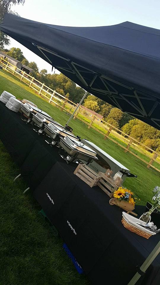Set Up At Taten Hill