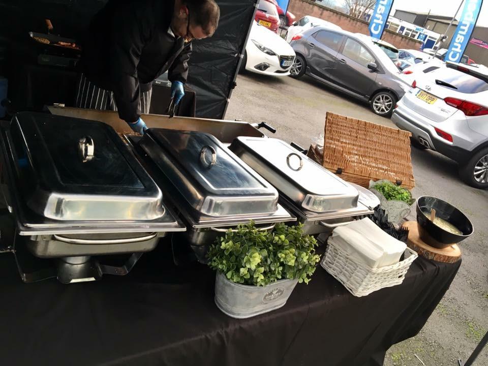 Hog Roast Catering For Mazda