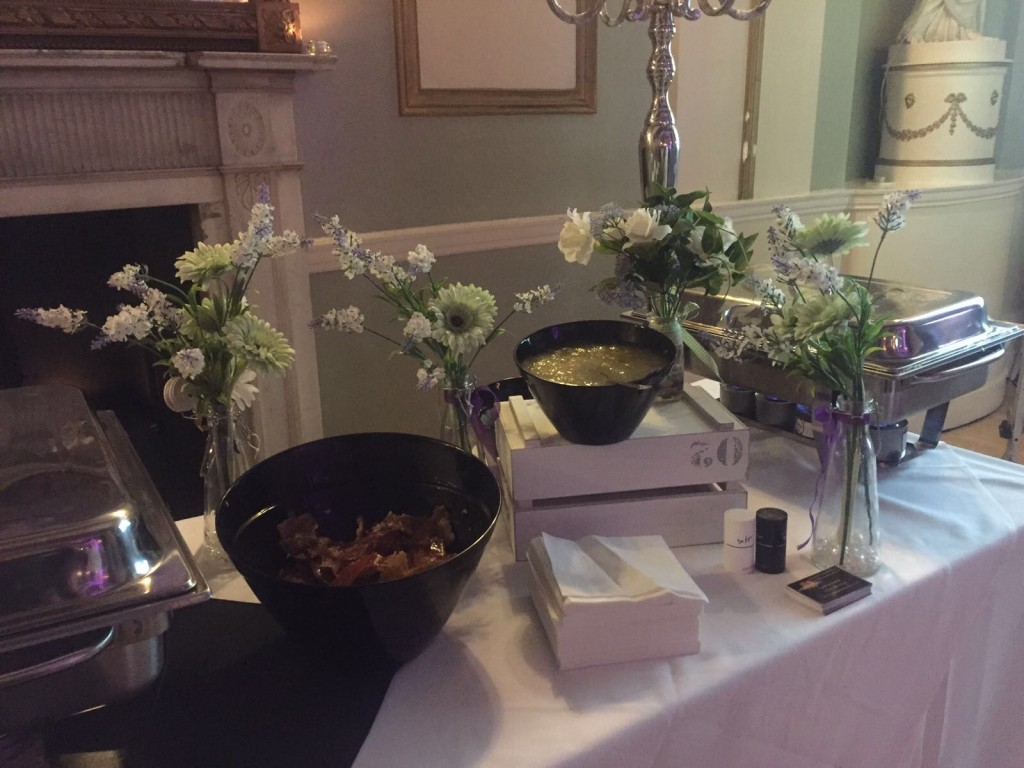 Catering For A Wedding Reception At City Rooms