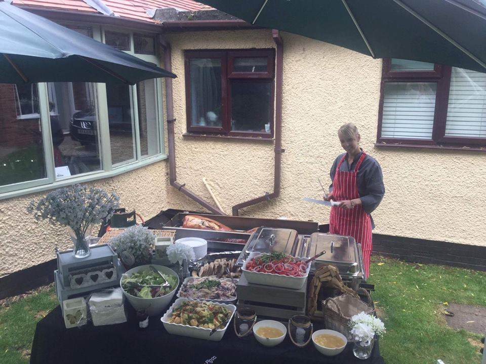 Hog Roast Stafford Garden Set Up